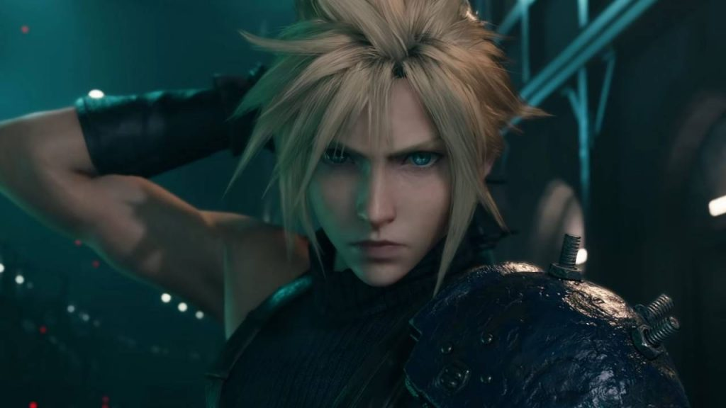 Cloud Strife در بازی Final Fantasy VII Remake
