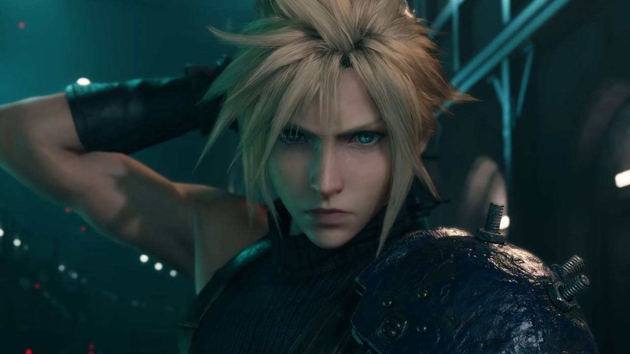 Cloud Strife در بازی Final Fantasy VII Remake