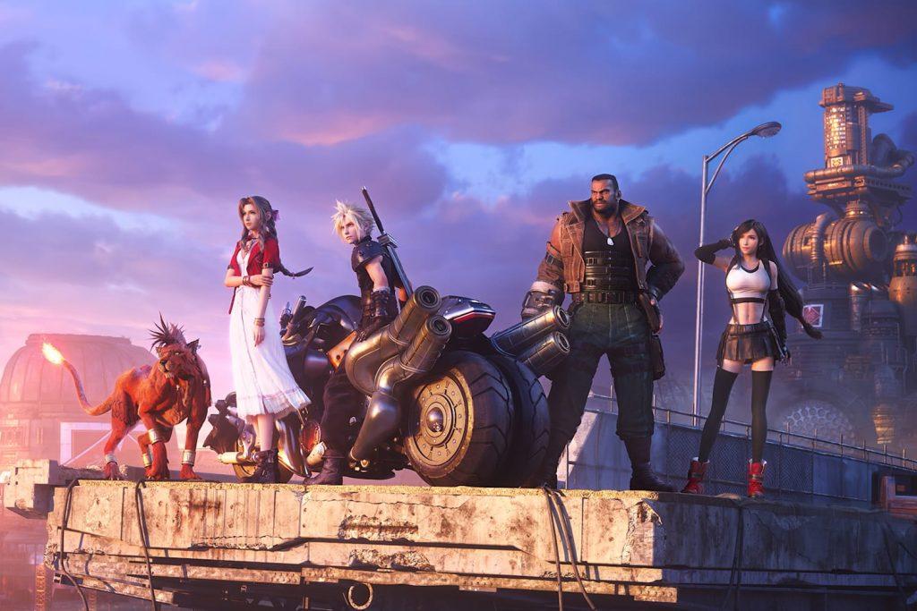 بازی Final Fantasy VII Remake برای PS4