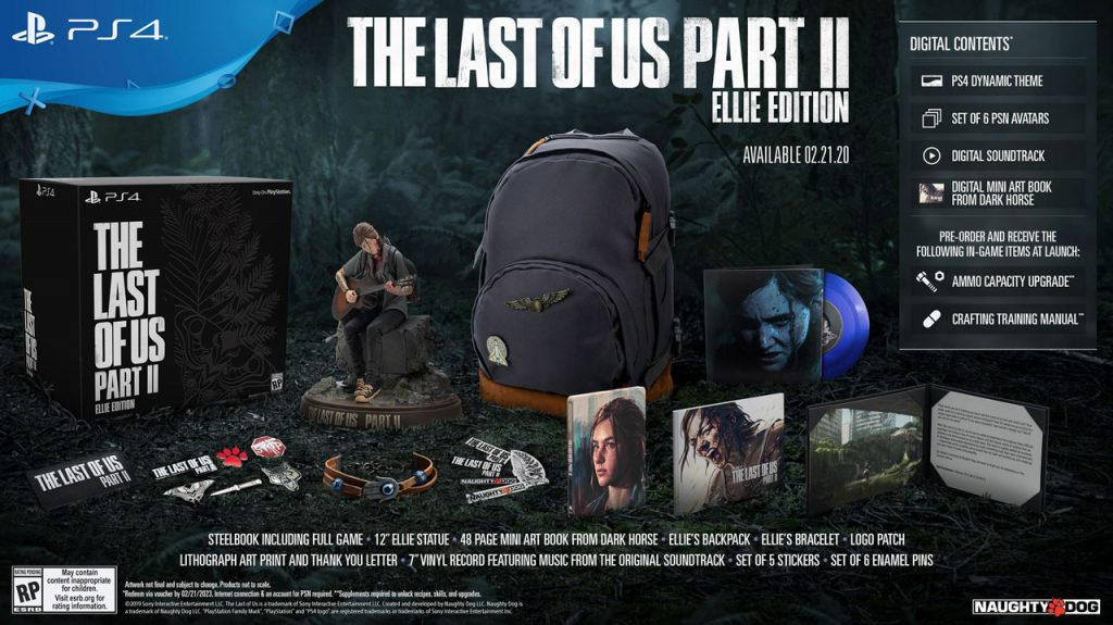 بازی Last Of Us Part 2 Ellie's Edition