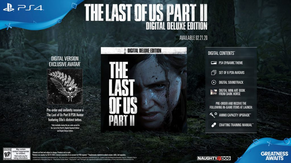 بازی Last Of Us Part 2 Digital Deluxe Edition