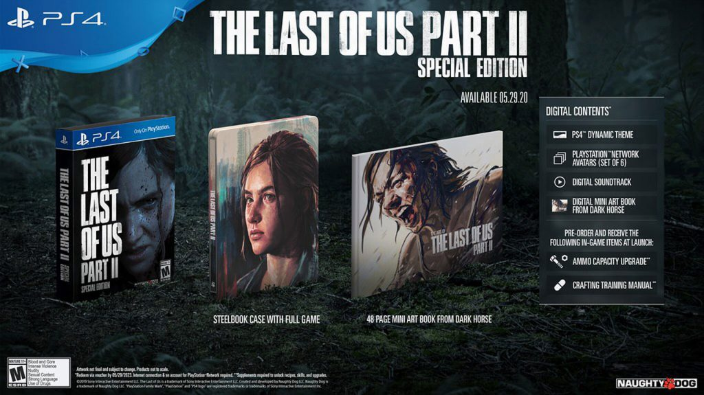 بازی Last Of Us Part 2 Special Edition