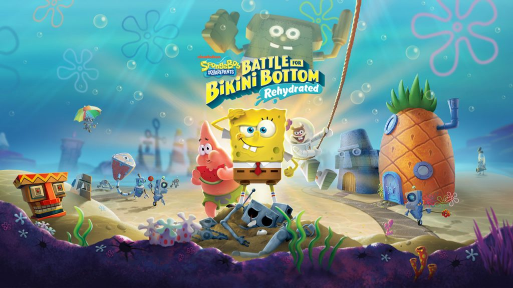 خرید بازی Spongebob Squarepants : Battle for Bikini Bottom